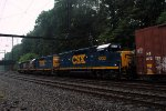 CSX GP40-2 6130 on C770-25